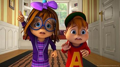 Alvinnn!!! I wiewiórki 2: Światła, kamera, akcja!/Woskowy Dave (4)