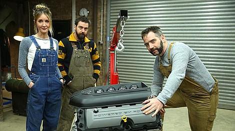 Goblin works garage ford capri o wyj tkowych osi gach for Garage ford romans