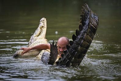 Mój przyjaciel krokodyl