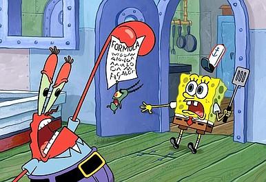 SpongeBob Kanciastoporty 9: Mała żółta książeczka/Zderzak w zderzak (4)