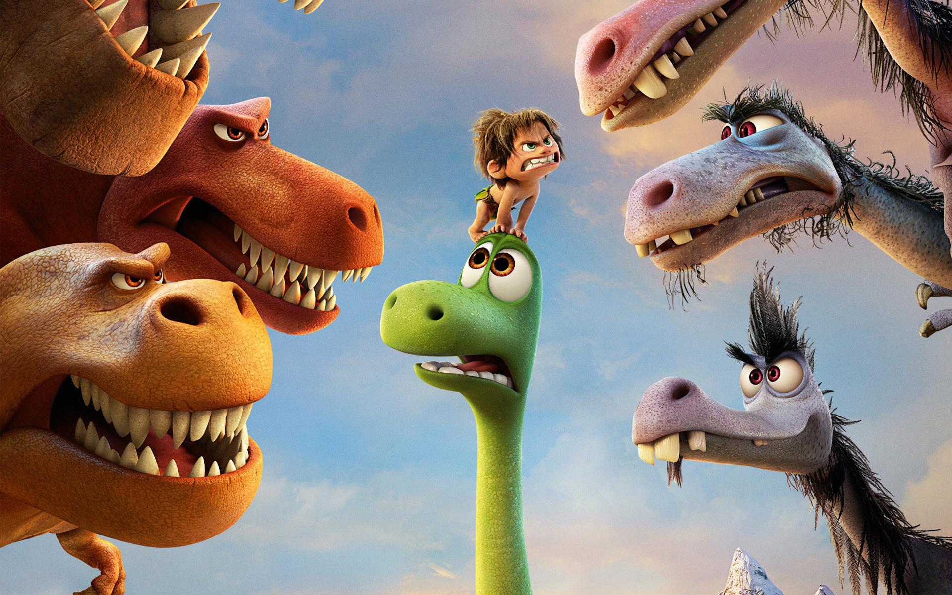 Film z dzieckiem - dobry dinozaur
